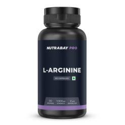 Nutrabay Pro L-Arginine Capsules - 1000mg
