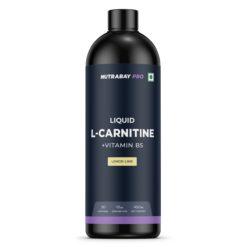 Nutrabay Pro Liquid L-Carnitine + Vitamin B5