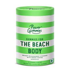 Power Gummies The Beach Body with Green Coffee, L-Carnatine & Vitamin C - Weight Management Gummies