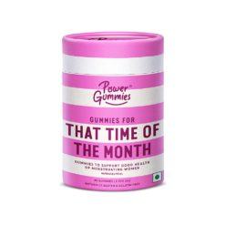 Power Gummies That Time of The Month - Period Pain Gummies, Cramp Relief, Decreases Hormonal Acne