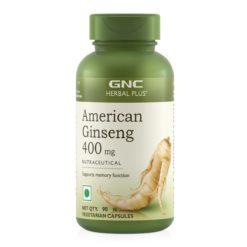 GNC American Ginseng Cap 400mg