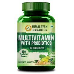 Himalayan Organics Multivitamin with 40 Ingredients & Probiotics