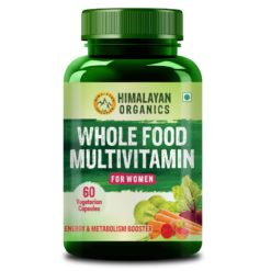 Himalayan Organics Whole Food Multivitamin for Women - With Natural Vitamins, Minerals, Extracts