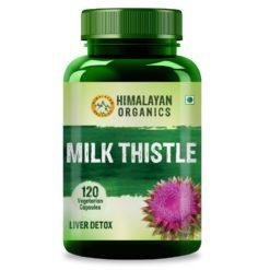 Himalayan Organics Milk Thistle Extract Silymarin 800mg