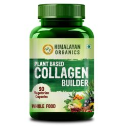 Himalayan Organics Plant Based Collagen Builder for Hair and Skin with Biotin and Vitamin C