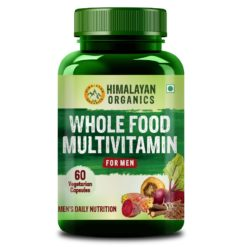 Himalayan Organics Whole Food Multivitamin for Men - With Natural Vitamins, Minerals, Extracts