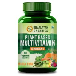 Himalayan Organics Plant Based Multivitamin with 60+ Extracts