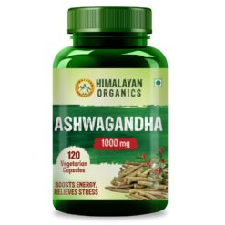 Himalayan Organics Ashwagandha 1000mg - Energy & Endurance