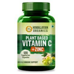 Himalayan Organics Plant Based Vitamin C with Zinc