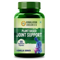 Himalayan Organics Plant Based Joint Support Supplement with Boswellia, Turmeric, Moringa & Alfalfa | Joint Pain Supplement