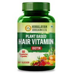 Himalayan Organics Plant Based Hair Vitamin (With DHT Blocker & Omega 3)