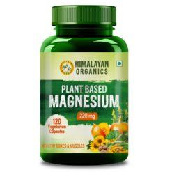 Himalayan Organics Plant Based Magnesium 220mg