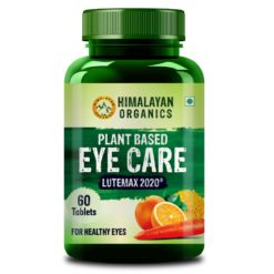 Himalayan Organics Plant Based Eye Care Supplement - Improve Vision, Blue Light & Digital Guard (Lutemax 2020, Orange Extract, Carrot Extract)