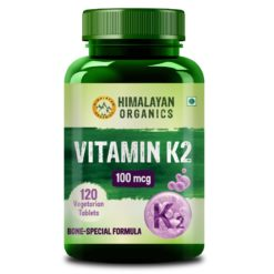 Himalayan Organics Vitamin K2 100mcg - Strong Bones & Healthy Heart