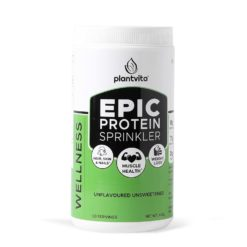 PlantVita EPIC - Protein Sprinkler For Wellness, Muscle Health, Unflavoured