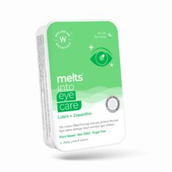 Wellbeing Nutrition Melts Eye Care Vitamins with Lutemax® 2020 (Lutein + Zeaxanthin), Bilberry, Beetroot