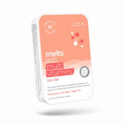 Wellbeing Nutrition Melts Complete Plant Based Multivitamin with 100% RDA of Vitamin A, Vitamin B-Complex, Vitamin C, D3 + K2, Ashwagandha