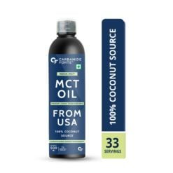 Carbamide Forte Pure MCT Oil C8 Organic From USA | 100% Coconut Source | Keto & Paleo Friendly