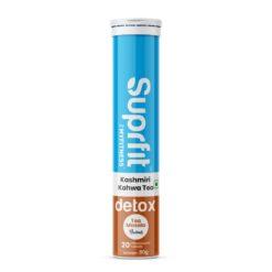 Suprfit Detox Kashmiri Kahwa Effervescent Tablets